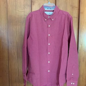 NWT The Normal Brand Twill Button Down LS